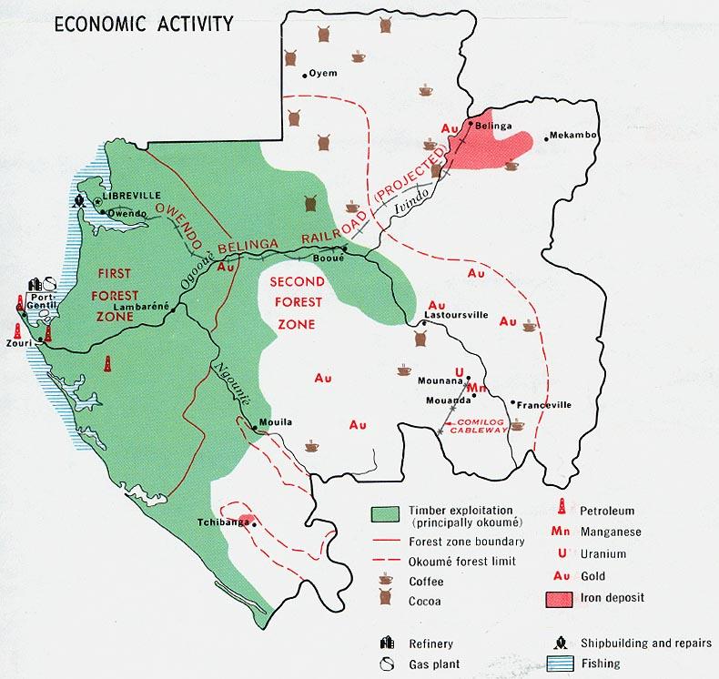 Download Free Gabon Maps