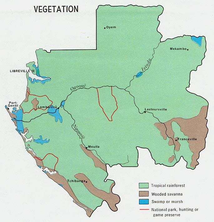 Gabon World Map.Download Free Gabon Maps