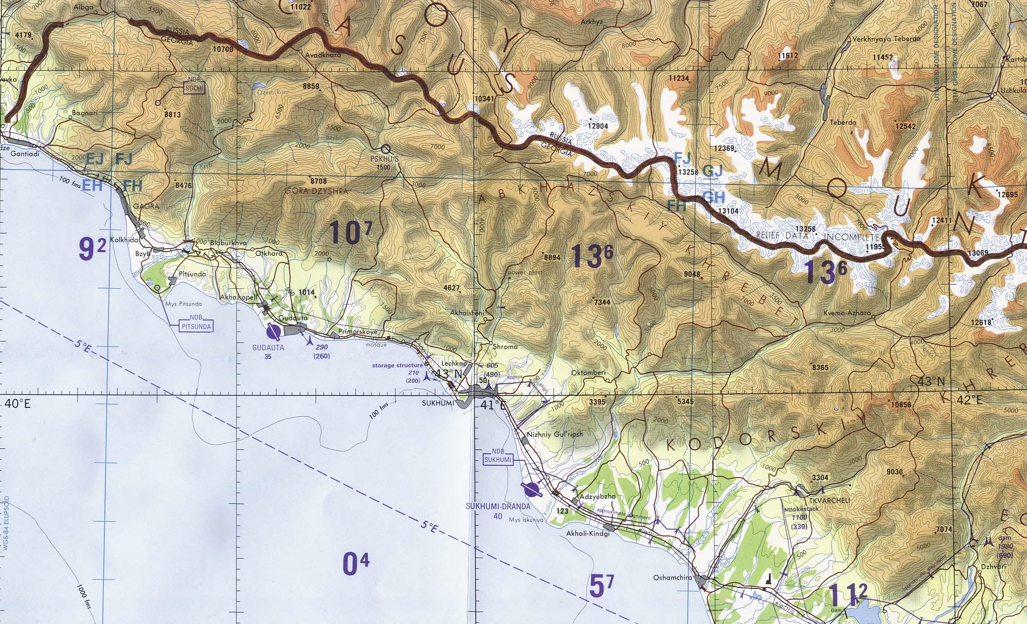 Download Free Georgia Maps