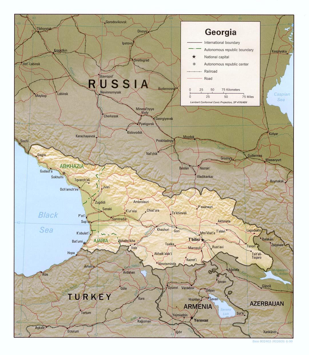 Free Map Of Georgia.Download Free Georgia Maps