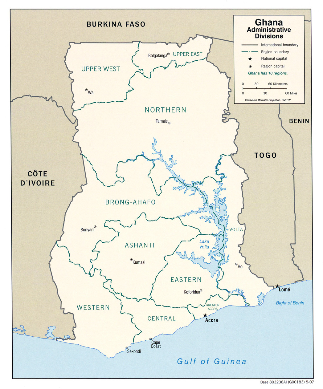 Download Free Ghana Maps