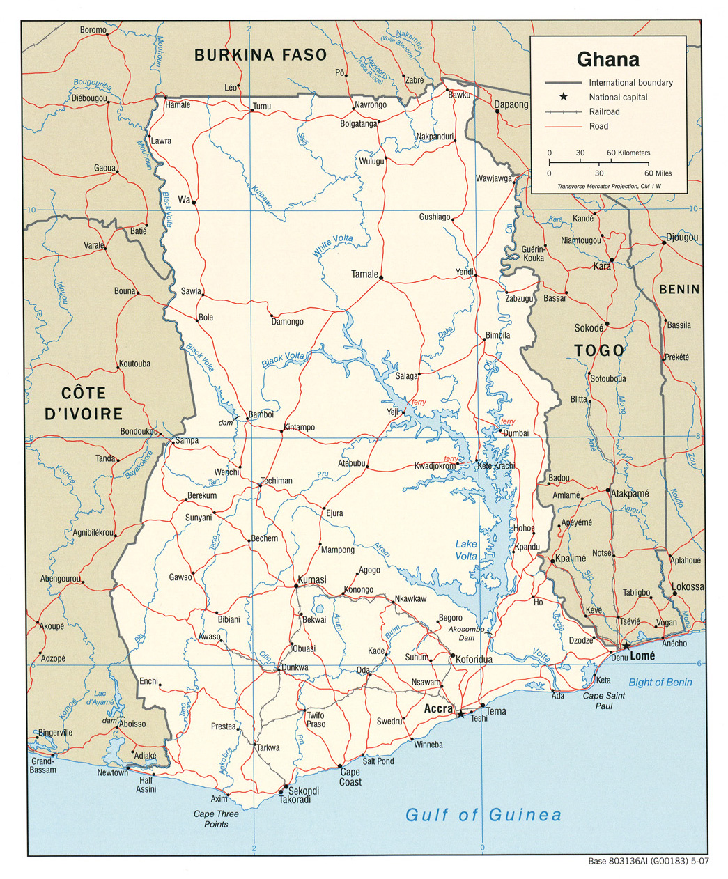 Download Free Ghana Maps