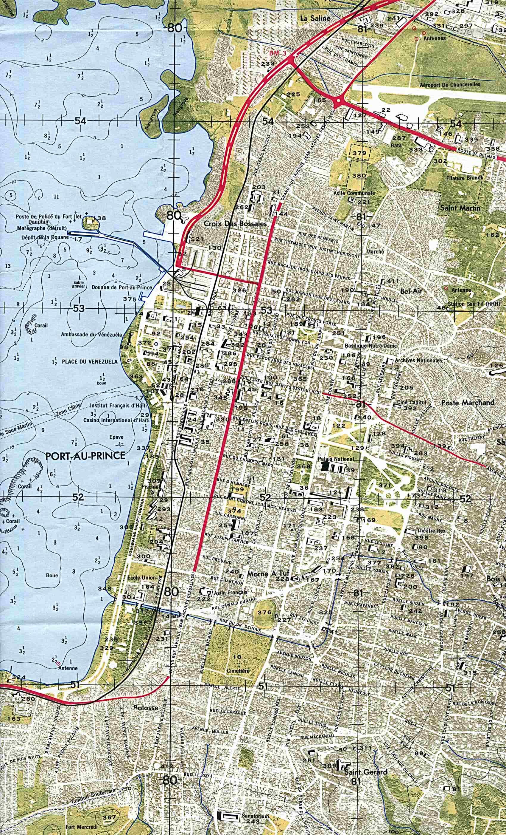 Topographic Map Of Haiti.Download Free Haiti Maps