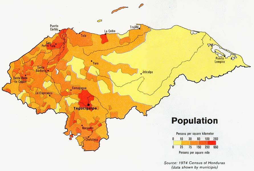 Honduras   Population ...