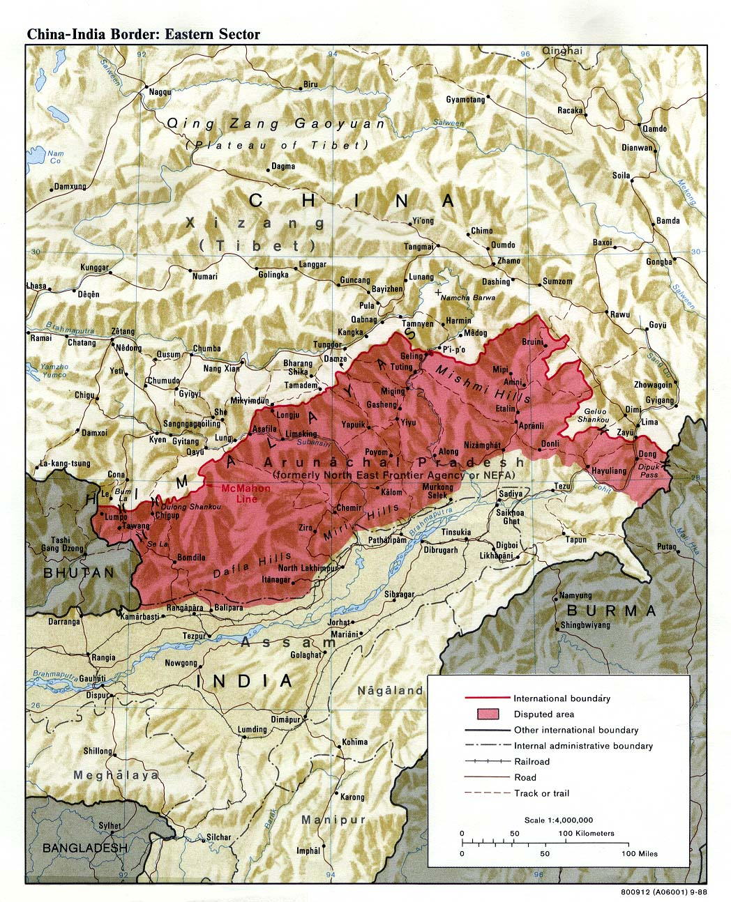 Download free india maps china india border eastern sector gumiabroncs Images