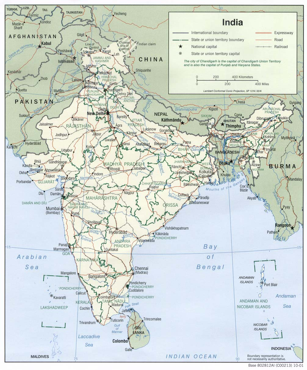 Download Free India Maps