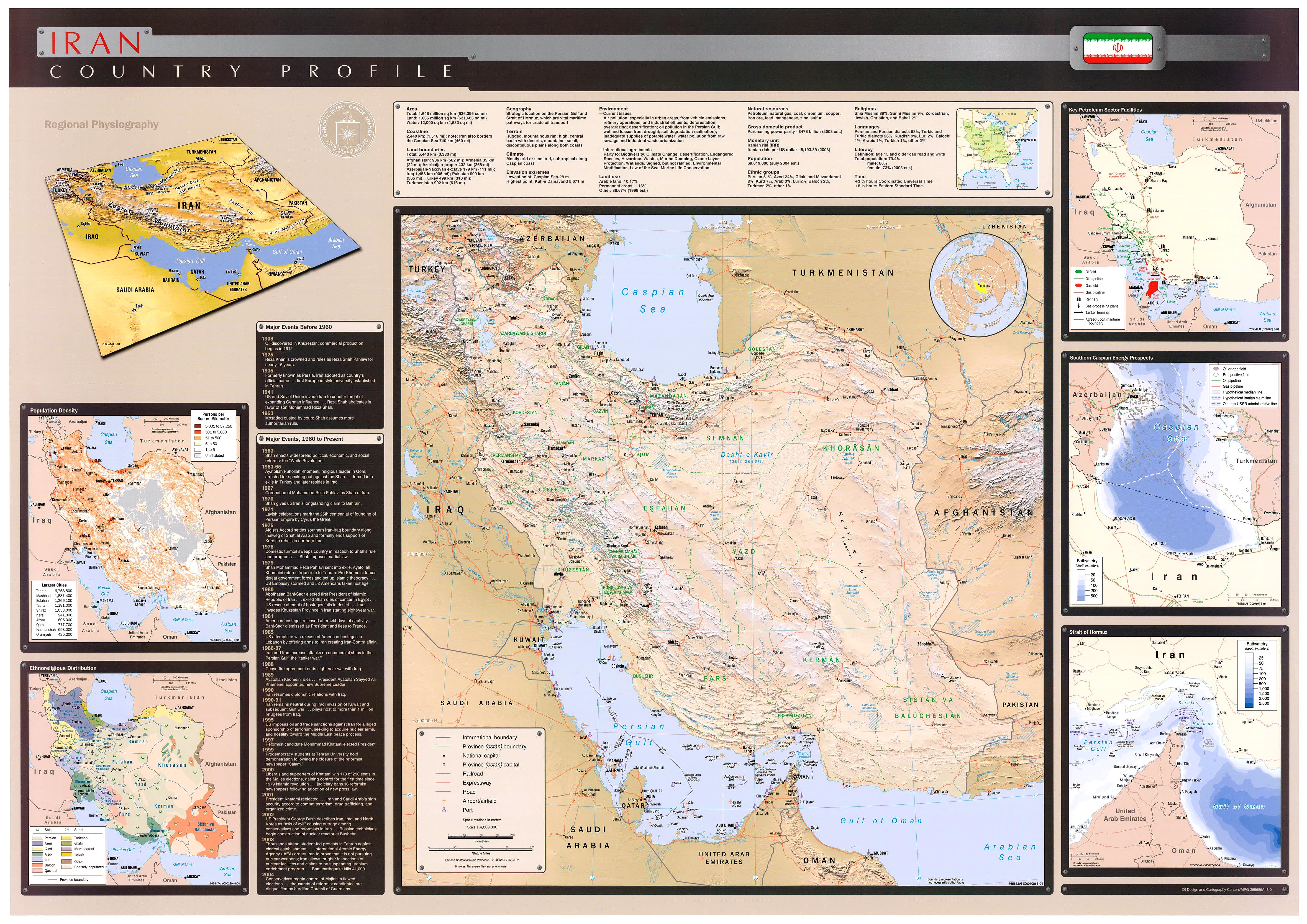 Download Free Iran Maps
