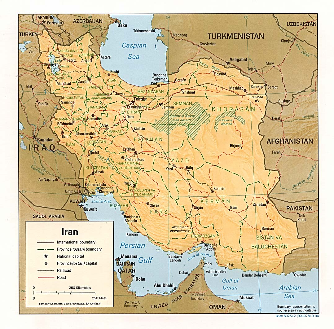 Download Free Iran Maps