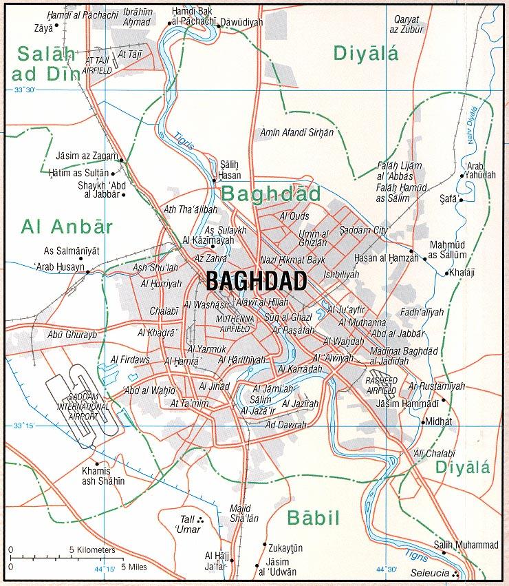 Download free iraq maps sciox Gallery