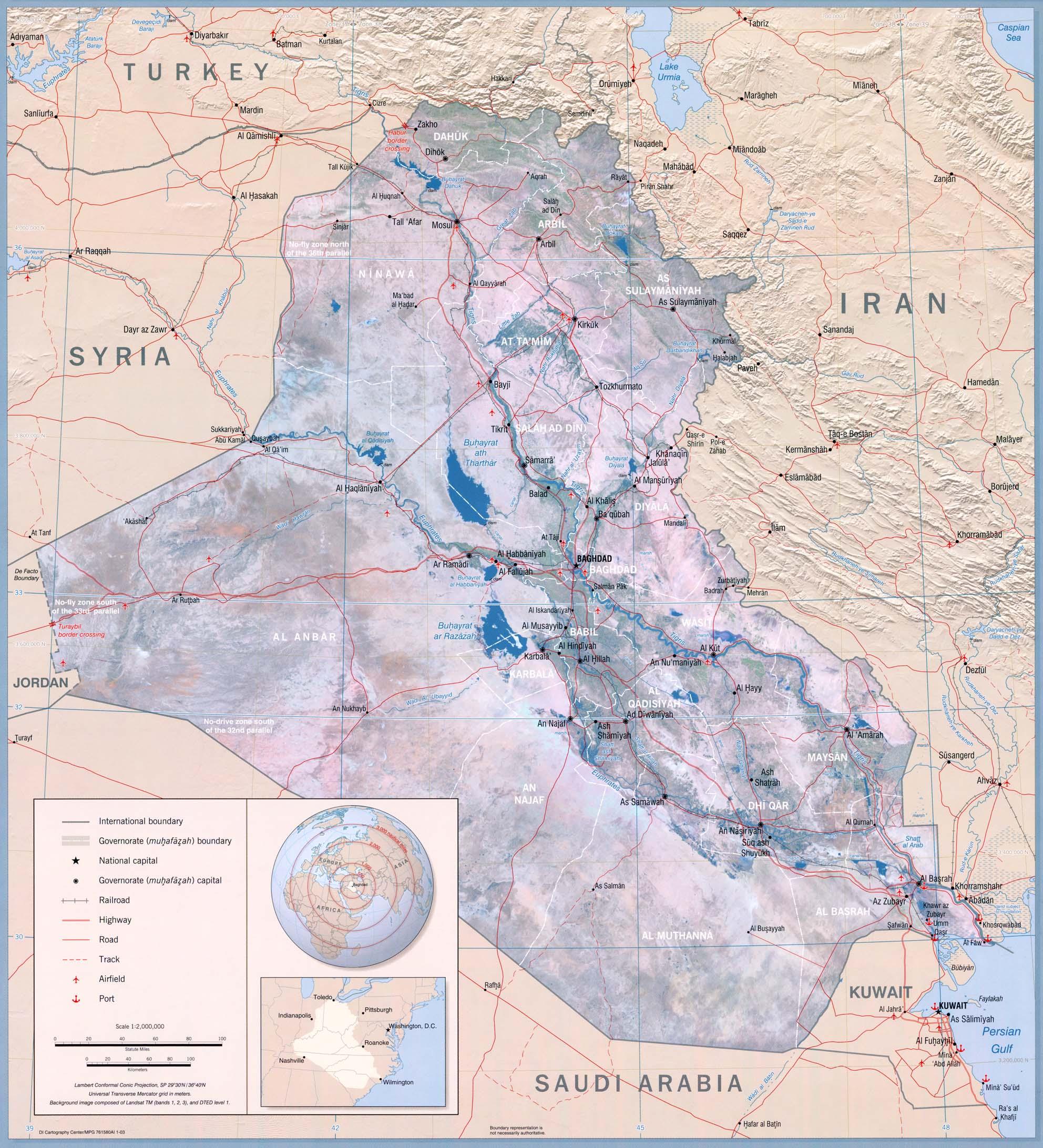 Download free iraq maps iraq gumiabroncs Gallery