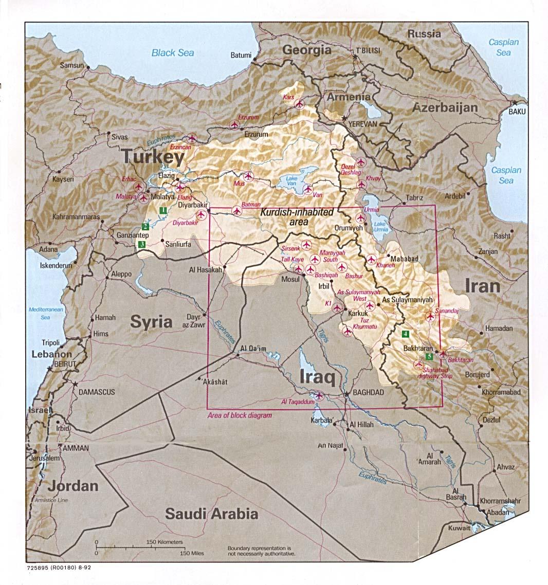 Download Free Iraq Maps
