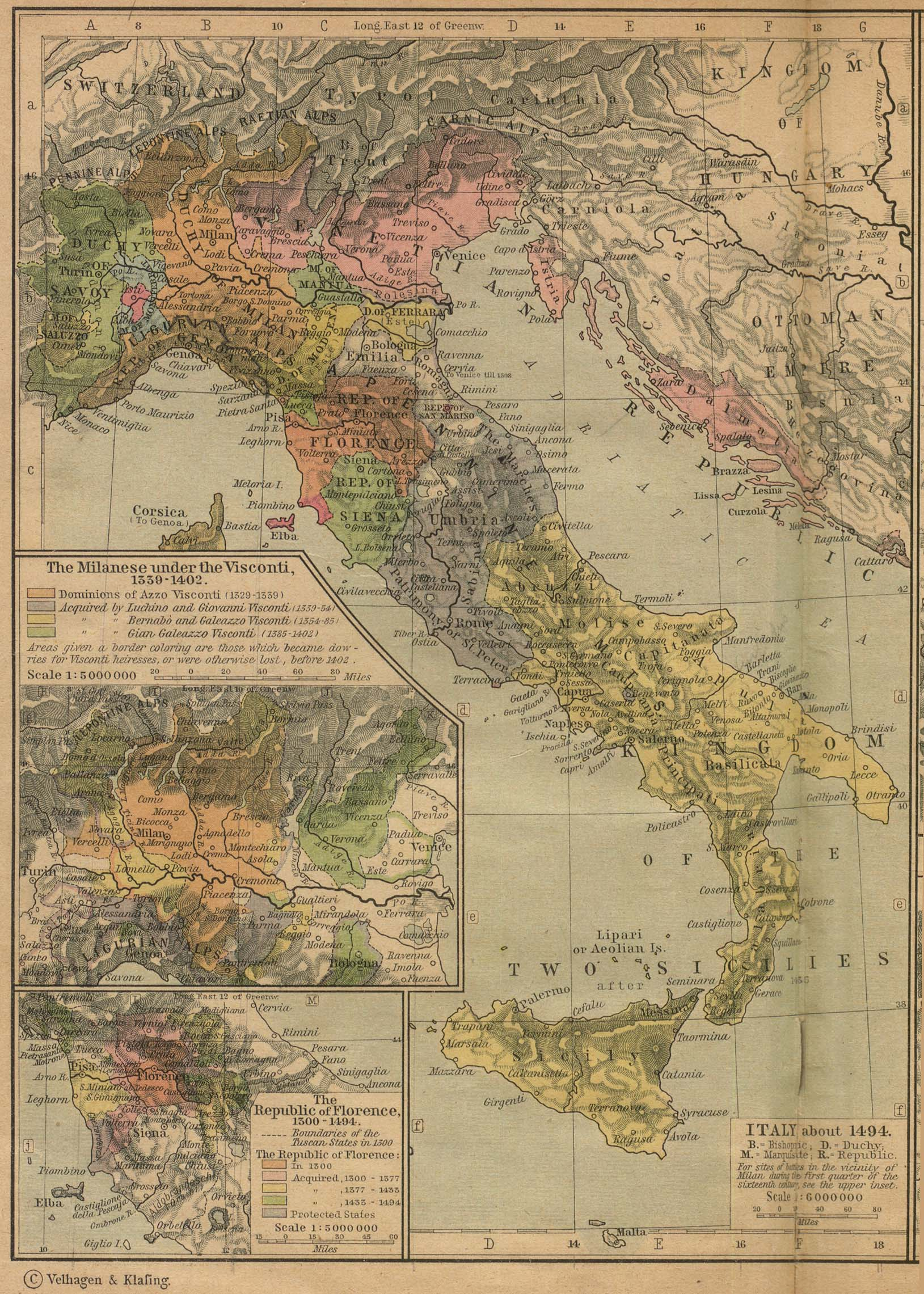 Download Free Italy Maps