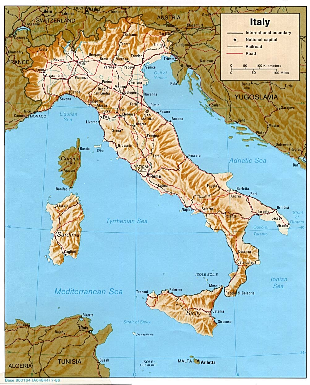 Pdf Map Of Italy.Download Free Italy Maps