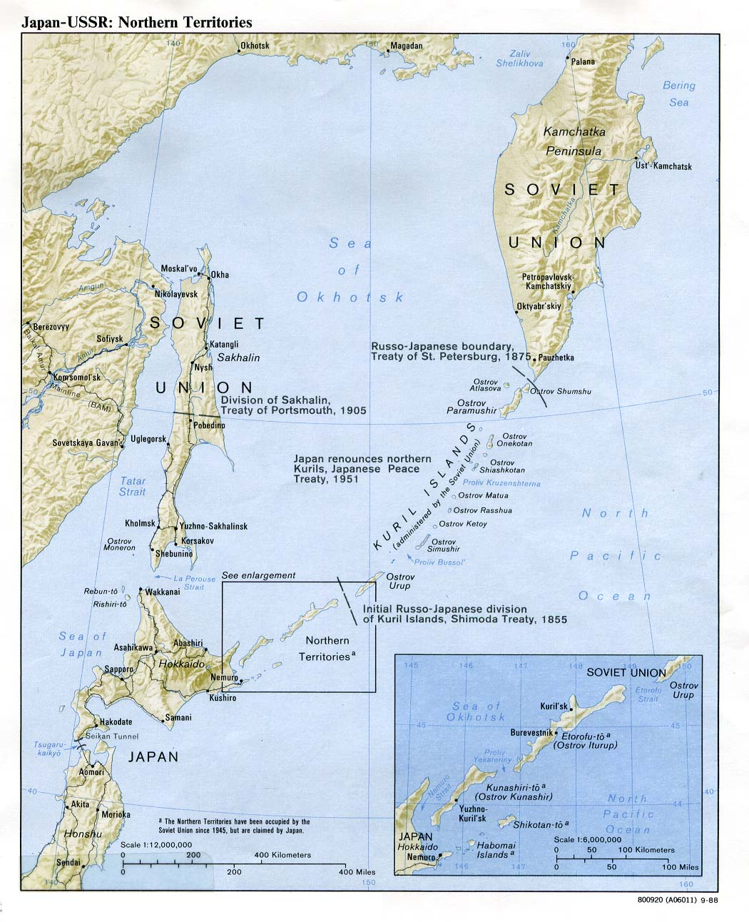 Download free japan maps japan ussr northern territories gumiabroncs Gallery