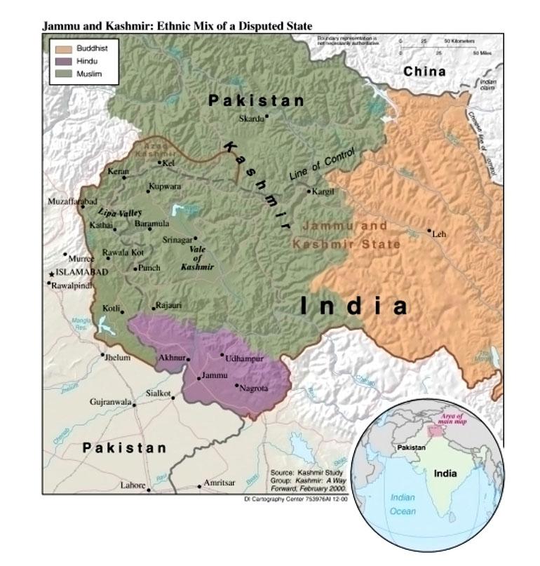 Download Free Kashmir Maps