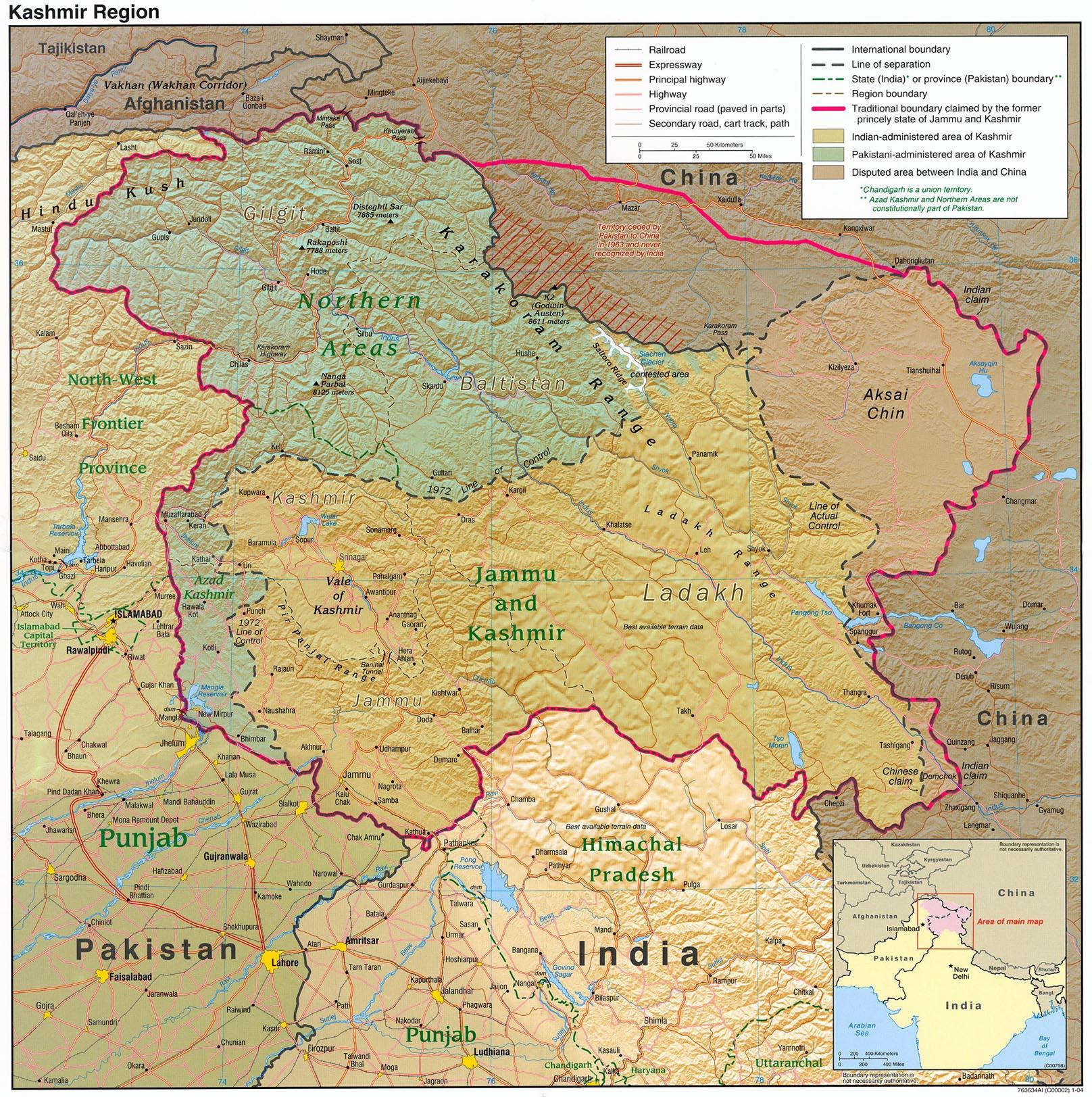 Download free kashmir maps gumiabroncs Gallery