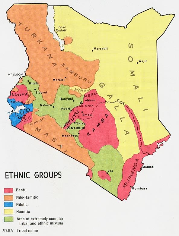 kenya ethnic groups