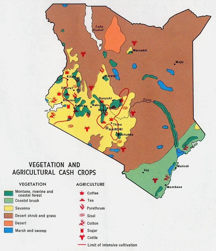 Download Free Kenya Maps