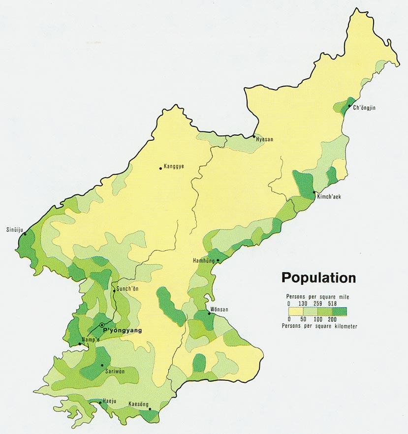 Download Free North Korea Maps