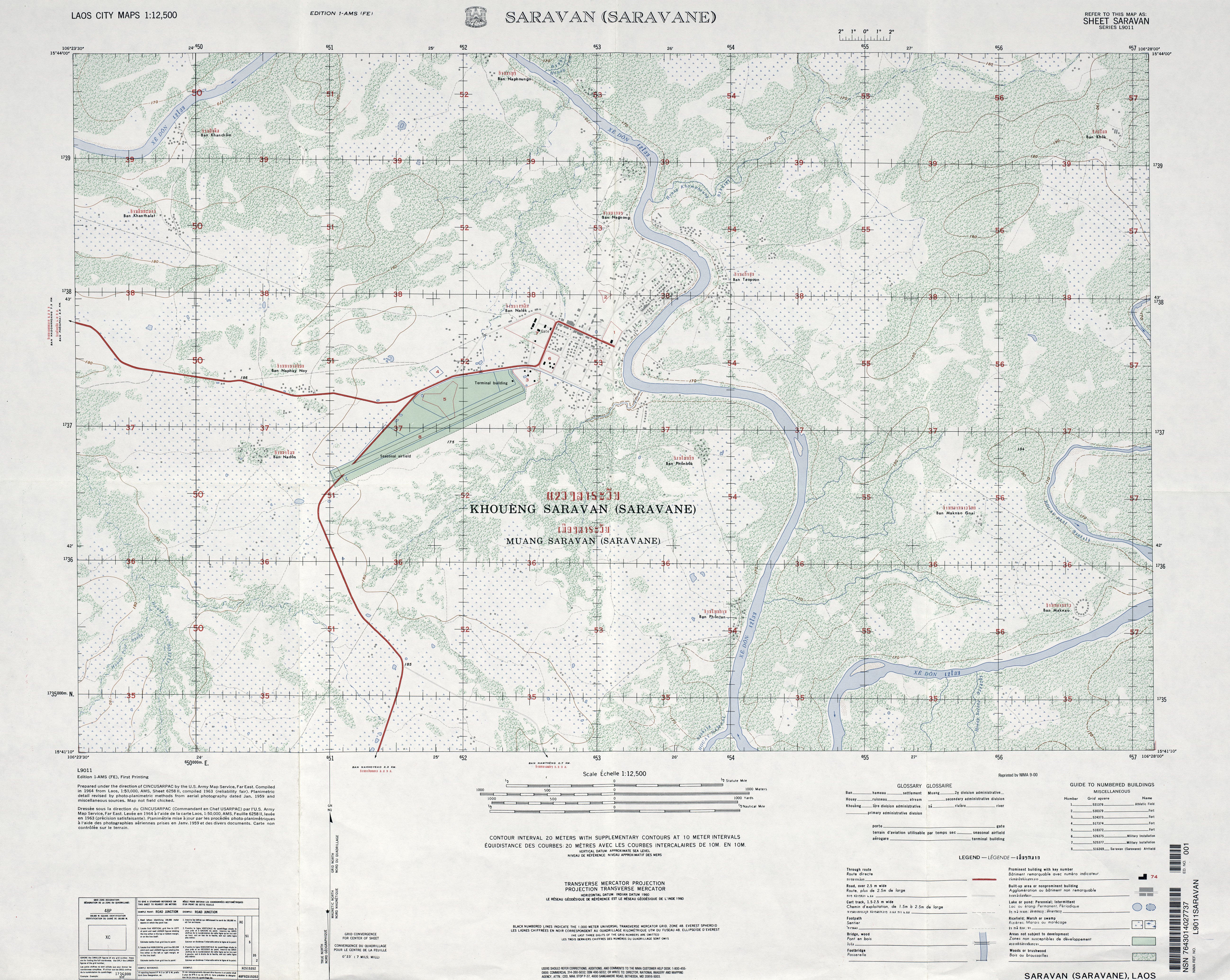 Download Free Laos Maps - 1 50000 topo map us military