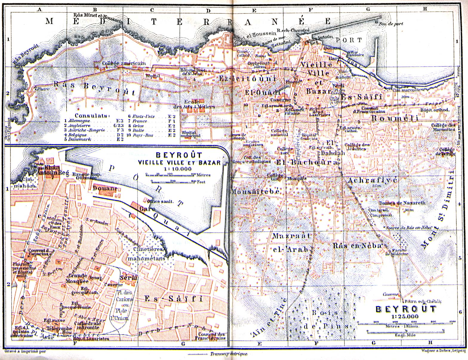 Download free lebanon maps beirut beyrout 1912 gumiabroncs Images