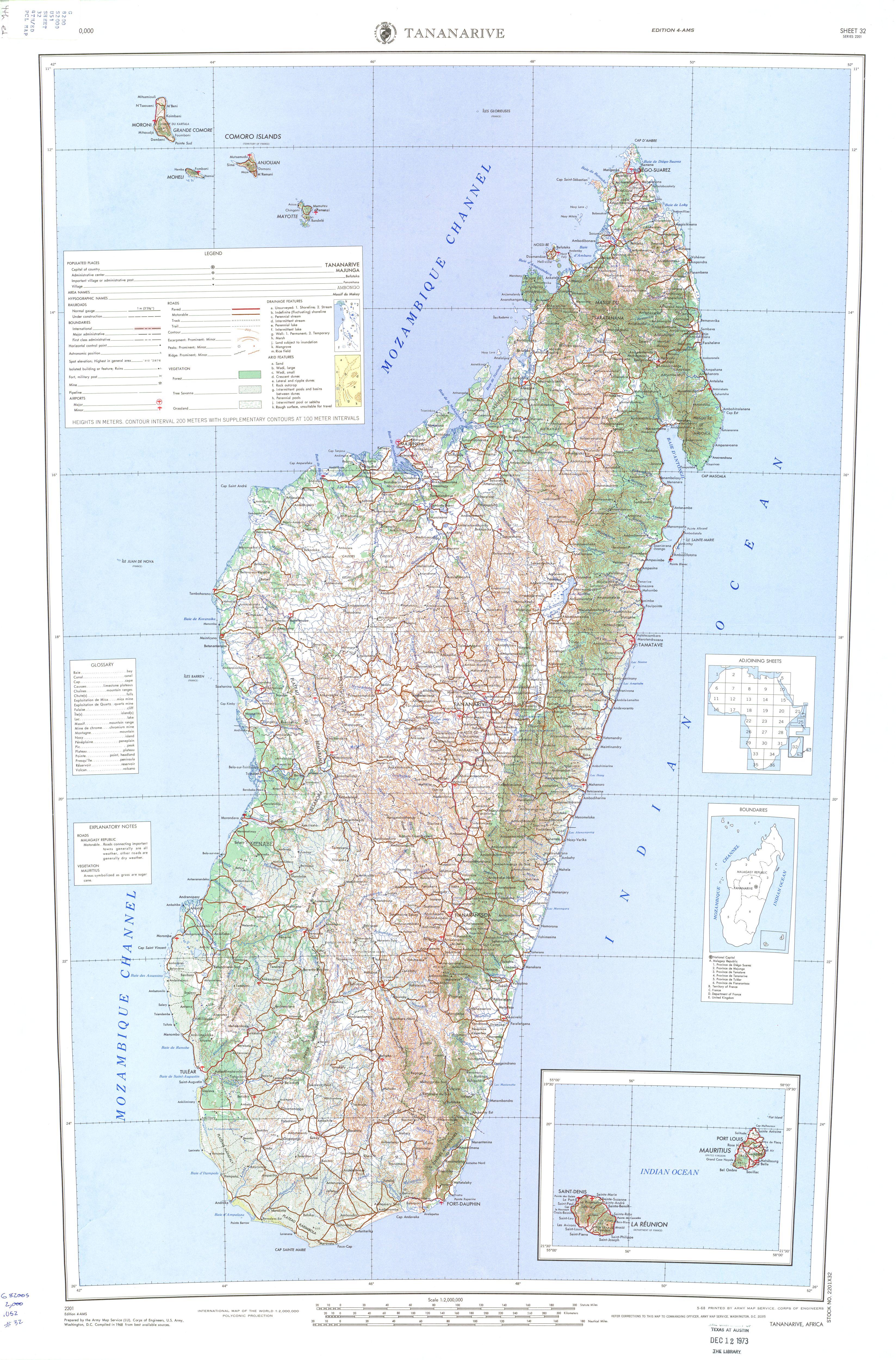Carte Madagascar Routard.Download Free Madagascar Maps