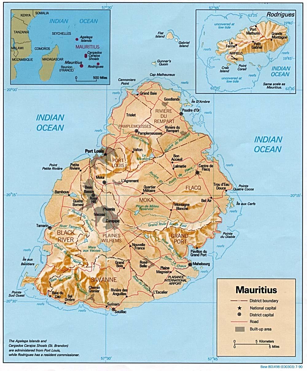 Download Free Mauritius Maps