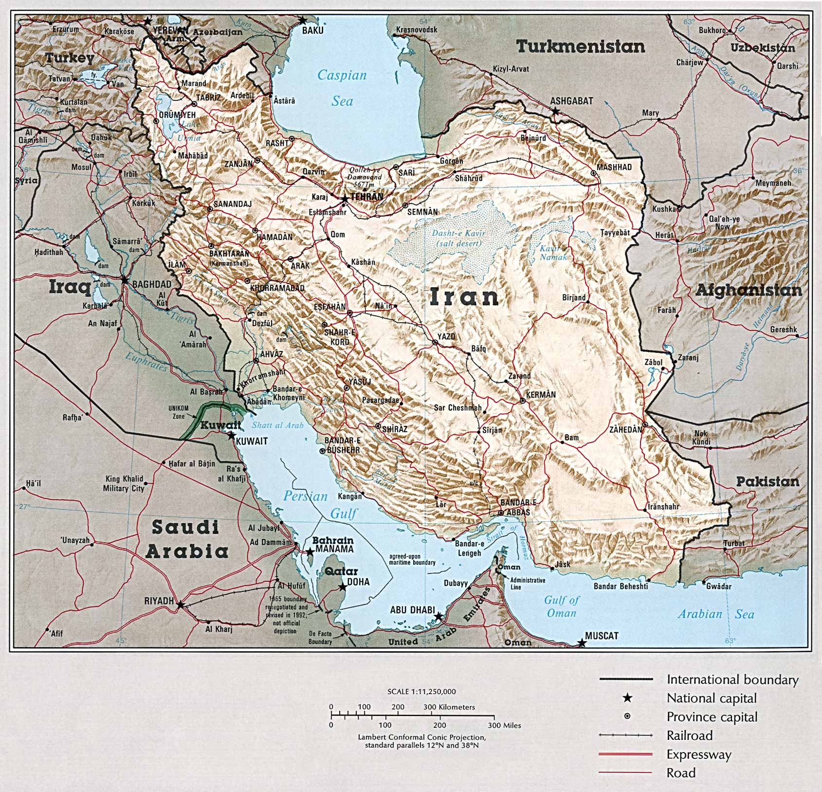 Download Free Middle East Country Atlas Maps