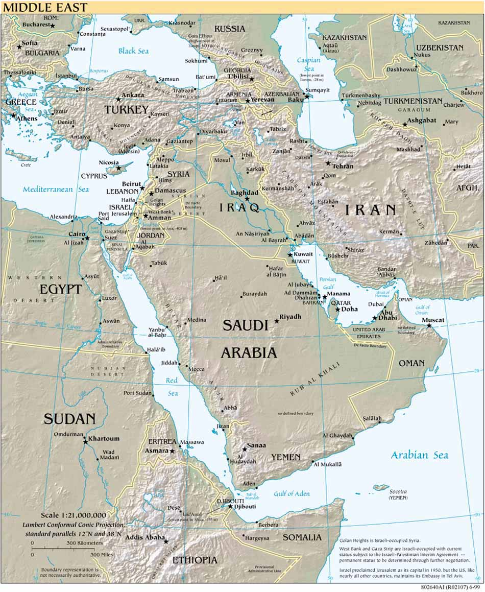 Download free middle east region maps middle east reference gumiabroncs Choice Image