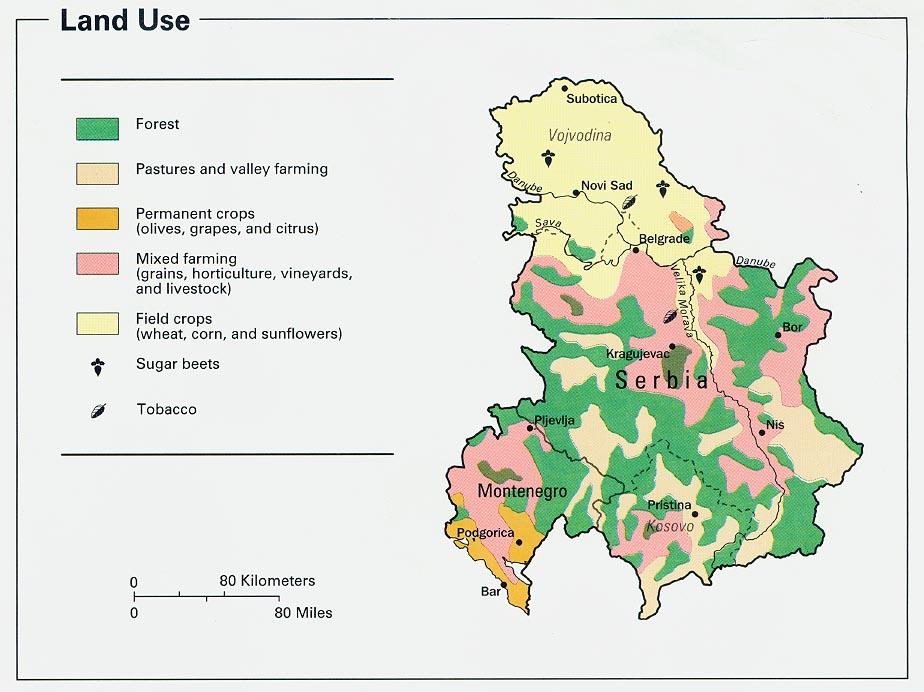 Download Free Montenegro Serbia Yugoslovia Maps - Montenegro map download