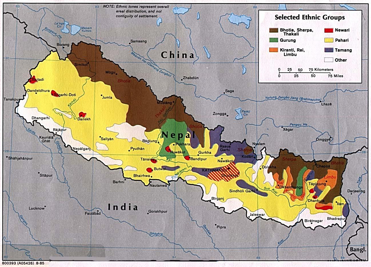 Download free nepal himalaya maps nepal selected gumiabroncs Gallery