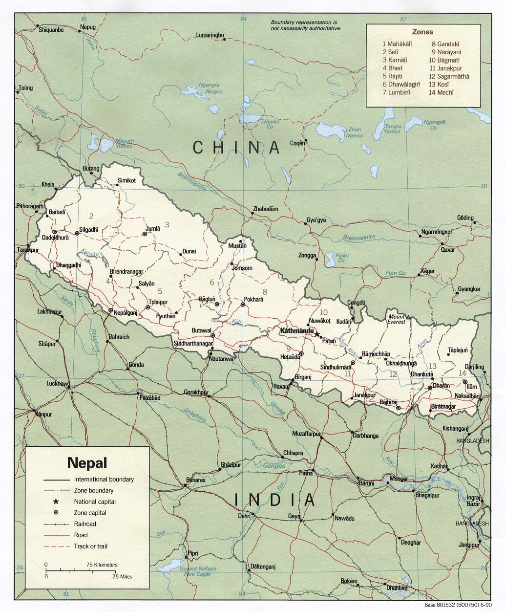 Download Free Nepal Himalaya Maps