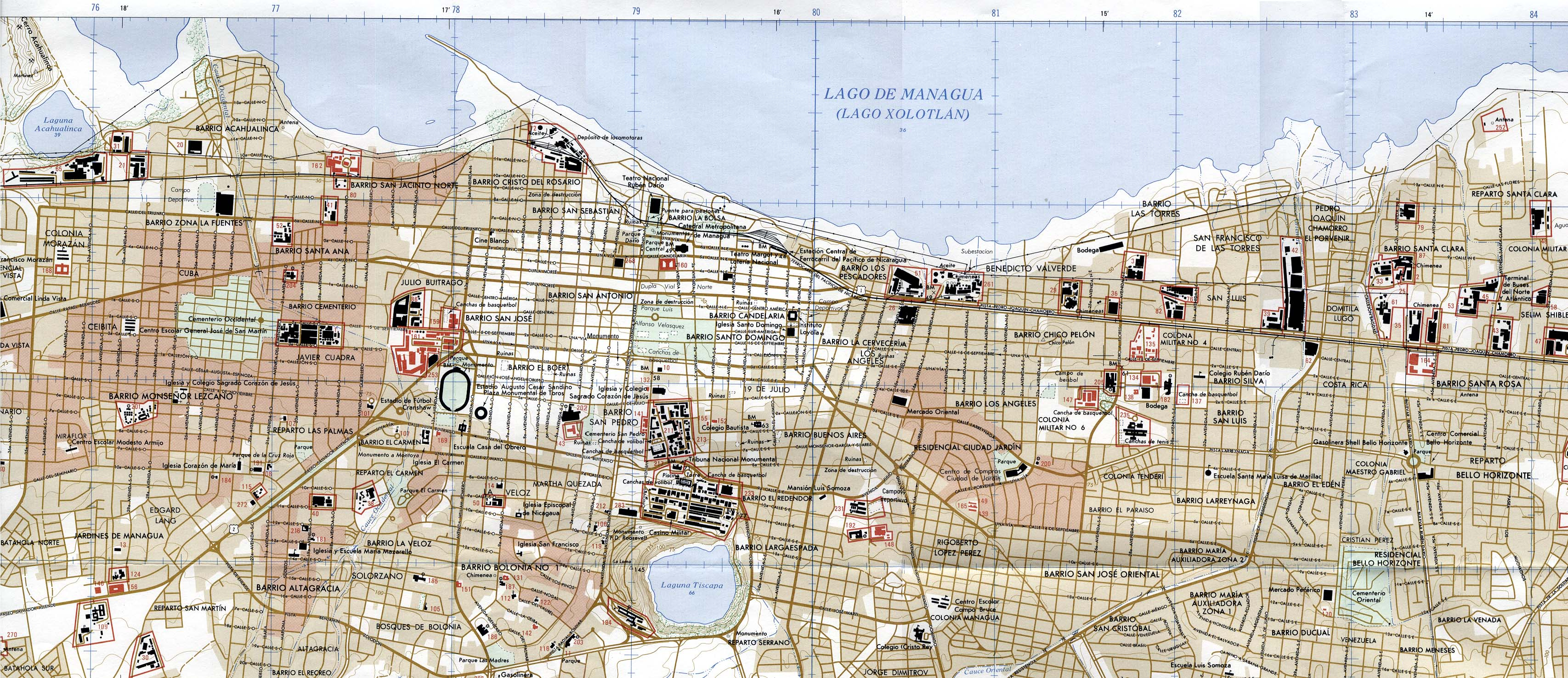 Download free nicaragua maps managua gumiabroncs Gallery