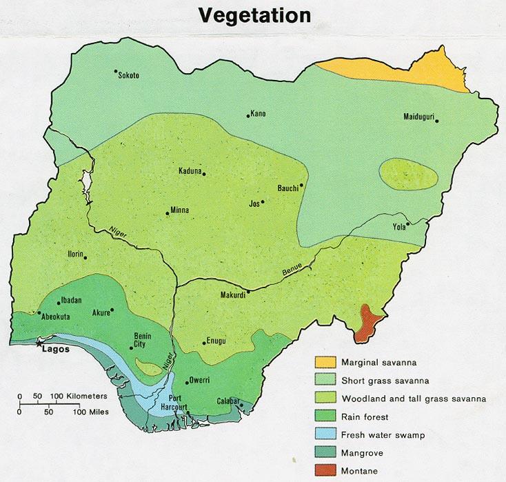 Download Free Nigeria Maps - Niger map hd pdf