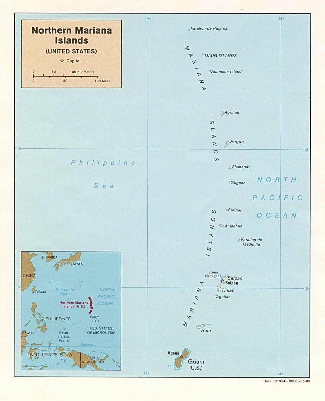 Download Free Northern Mariana Islands Maps