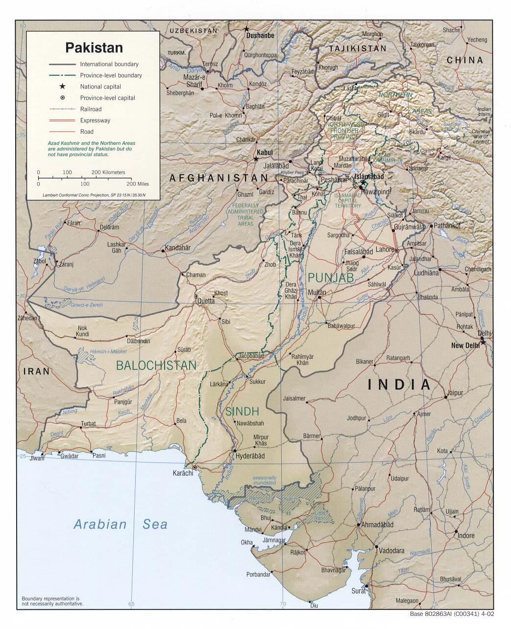 Download Free Pakistan Maps