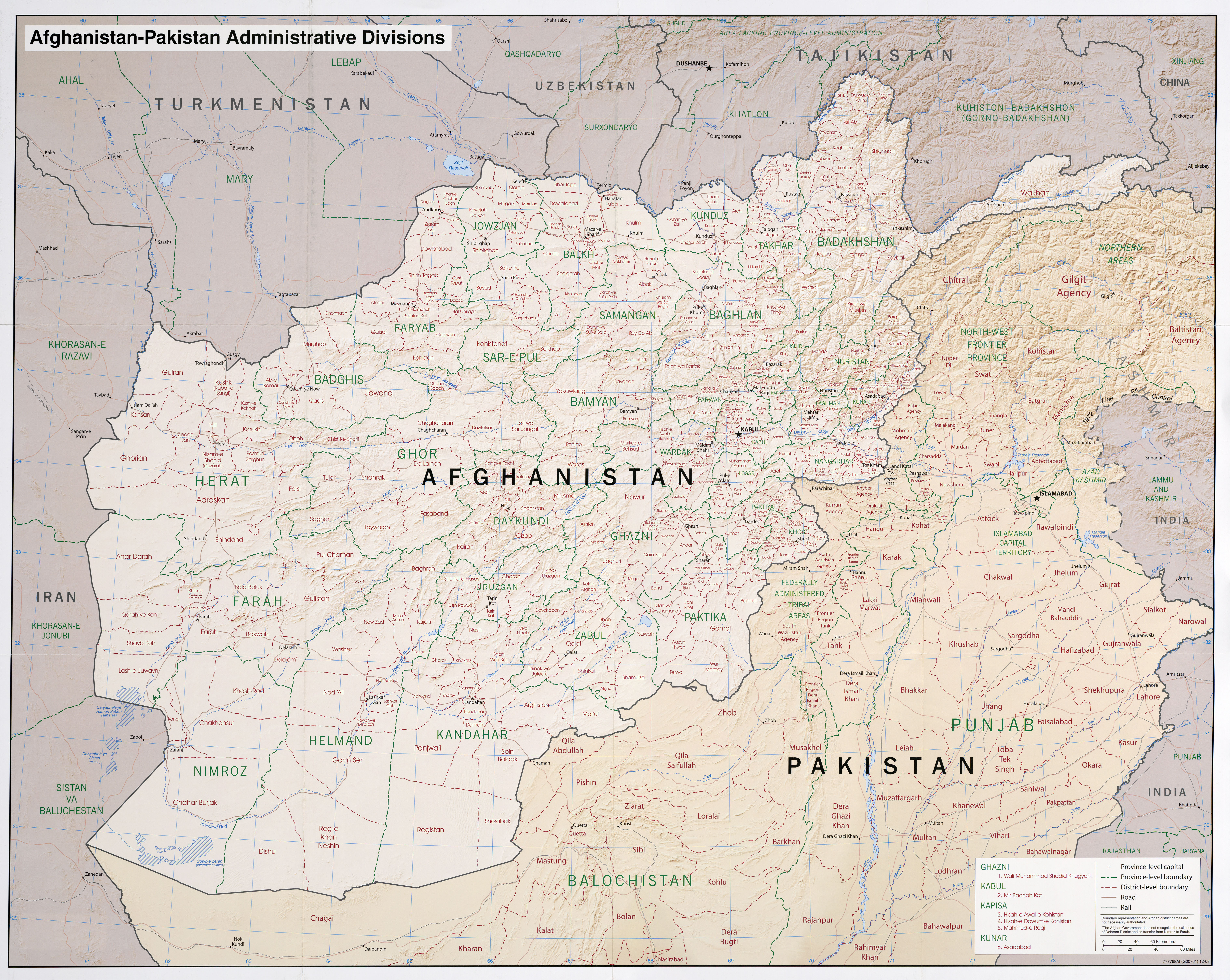 Download free pakistan maps afghanistan pakistan administrative gumiabroncs Images