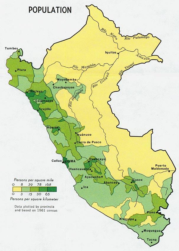 Download Free Peru Maps