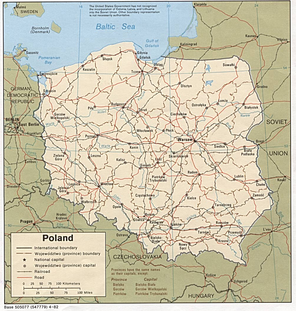 Download Free Poland Maps