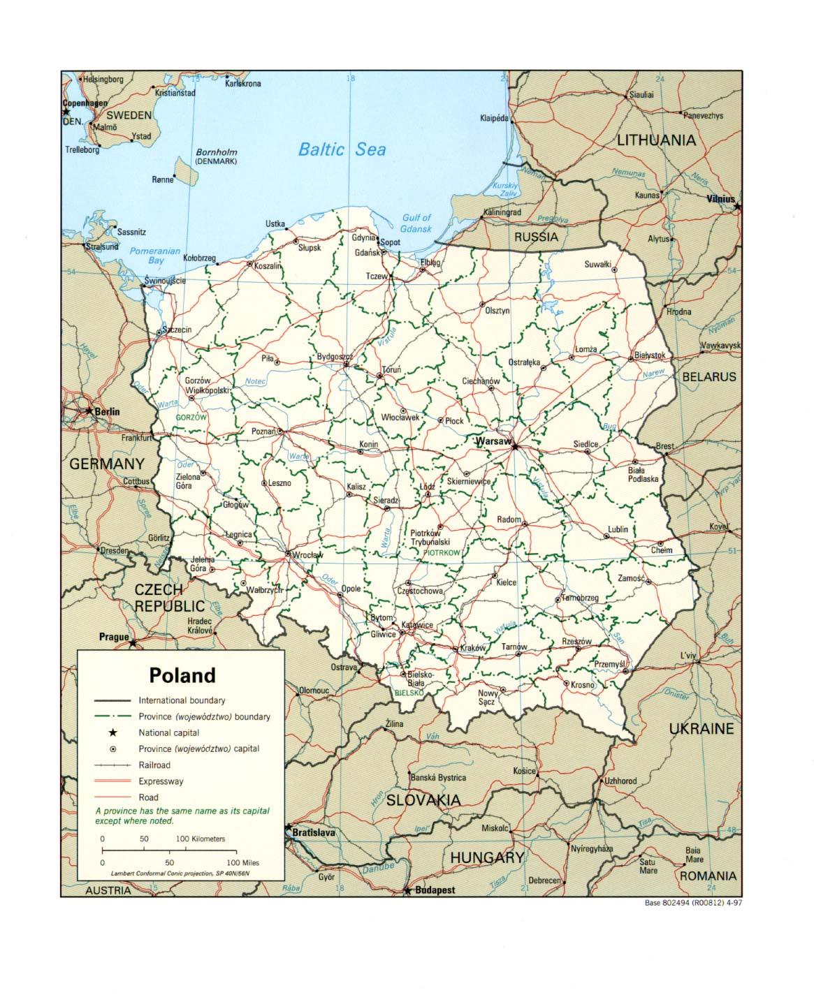 Download Free Poland Maps