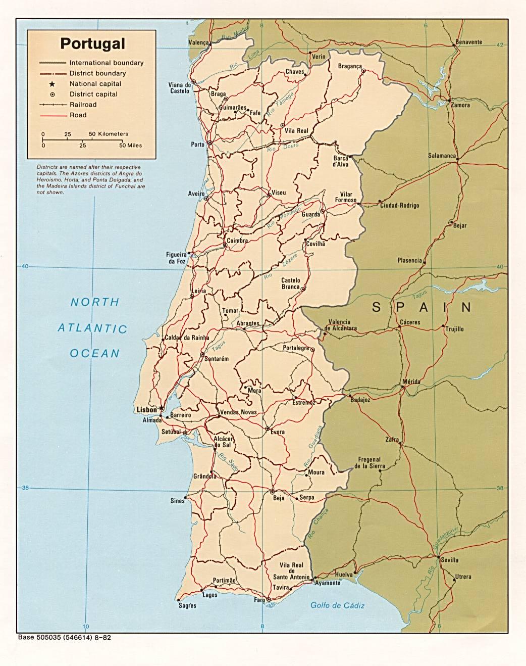 mapa portugal download Download Free Portugal Maps mapa portugal download