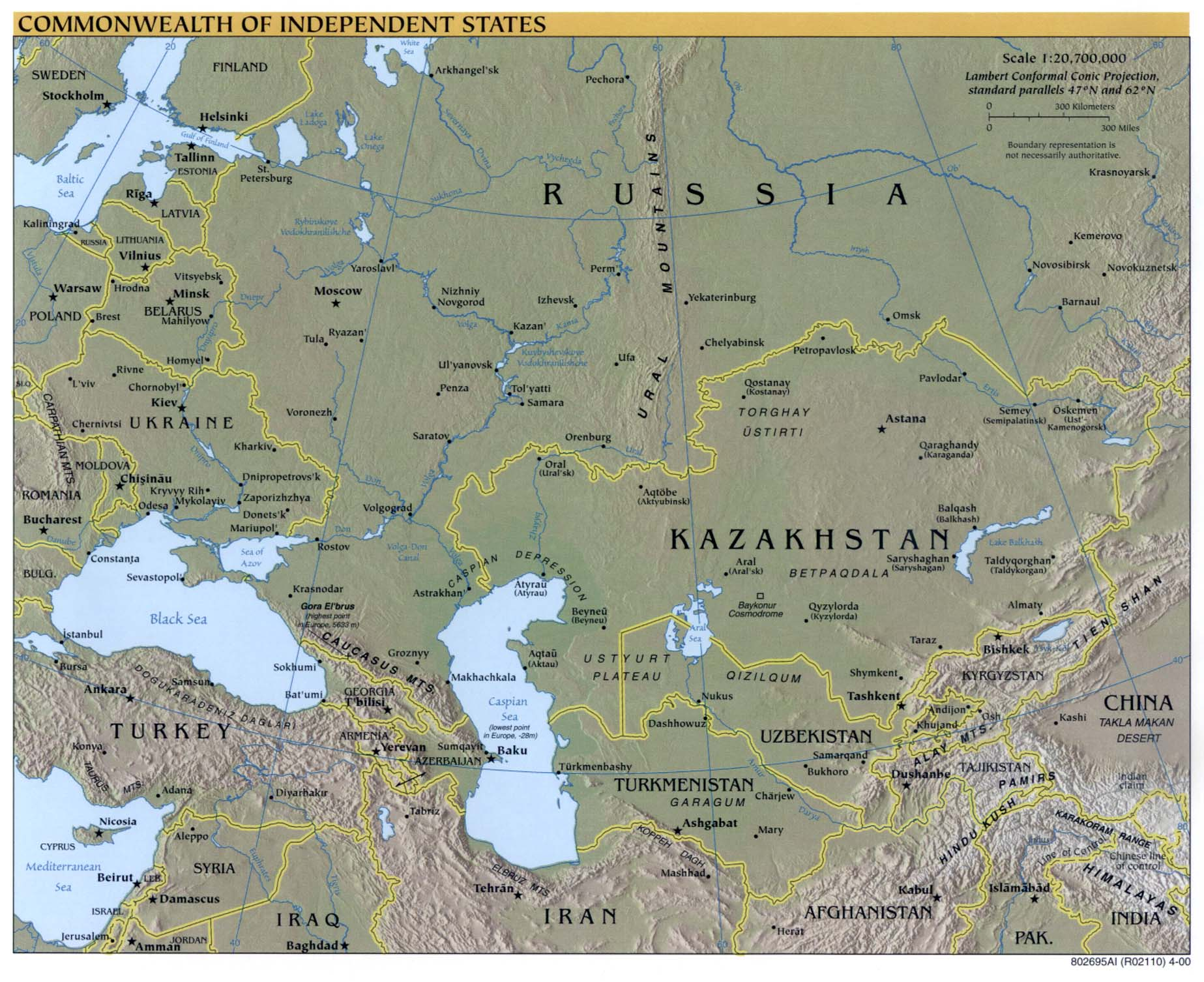 Download Free Russia Maps