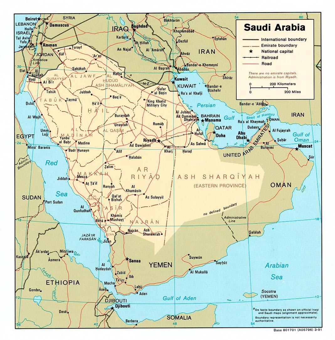 Download Free Saudi Arabia Maps