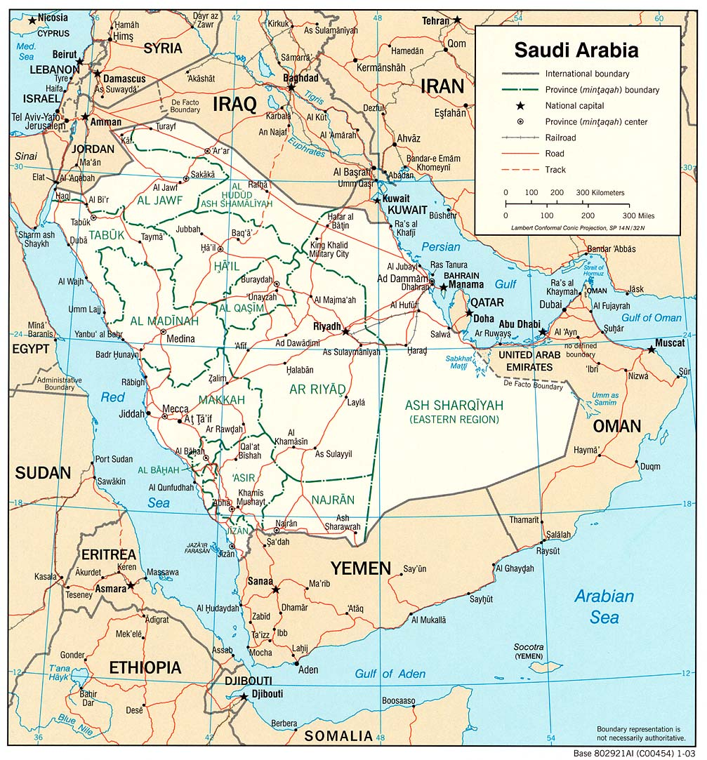 Download Free Saudi Arabia Maps
