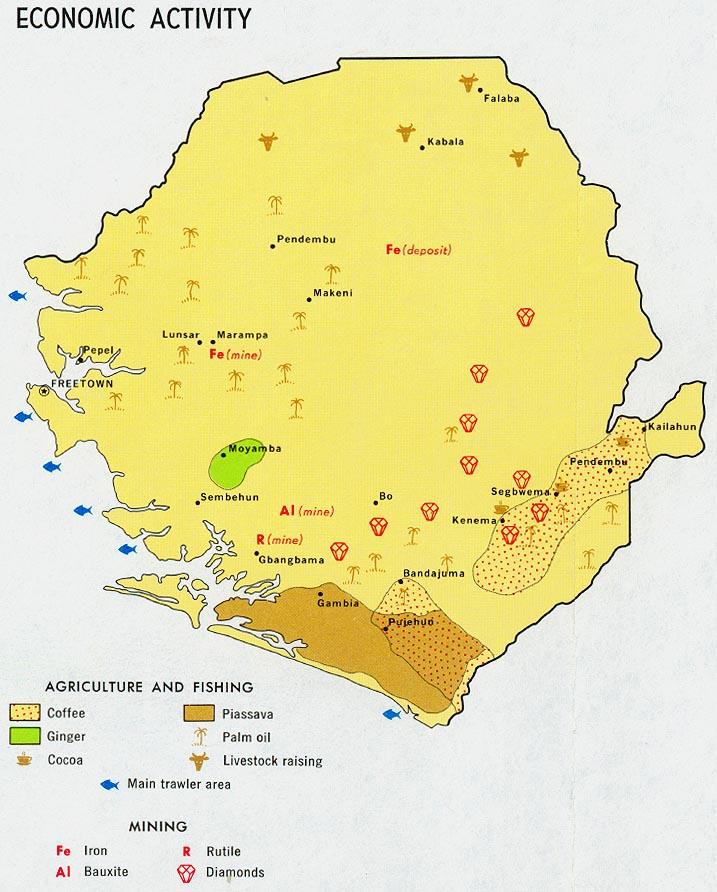Download Free Sierra Leone Maps