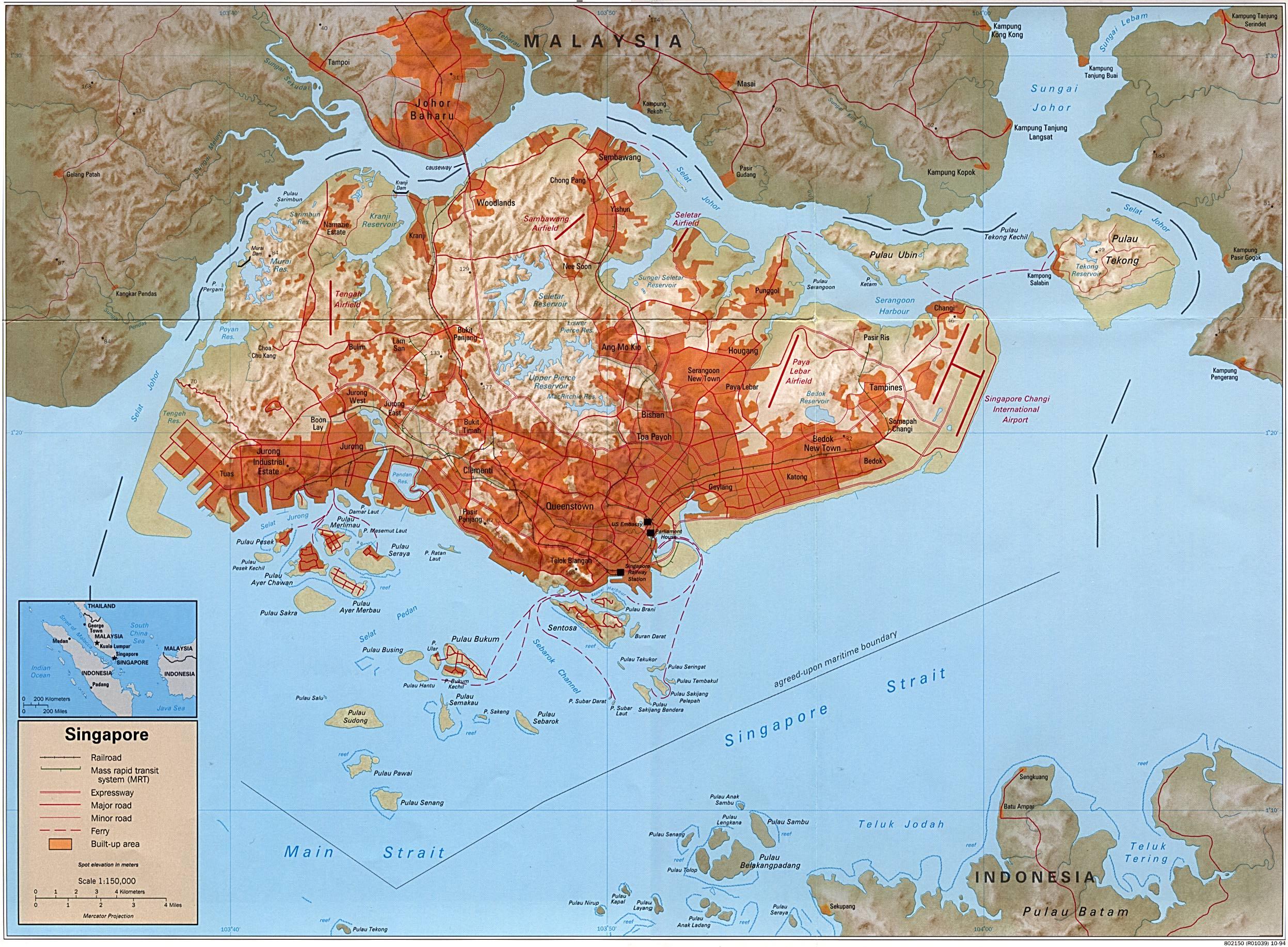 Download Free Singapore Maps