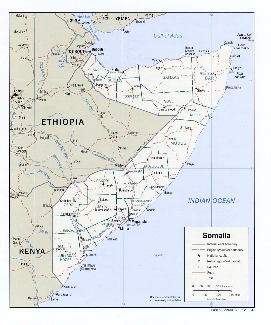 Download Free Somalia Puntland Maps