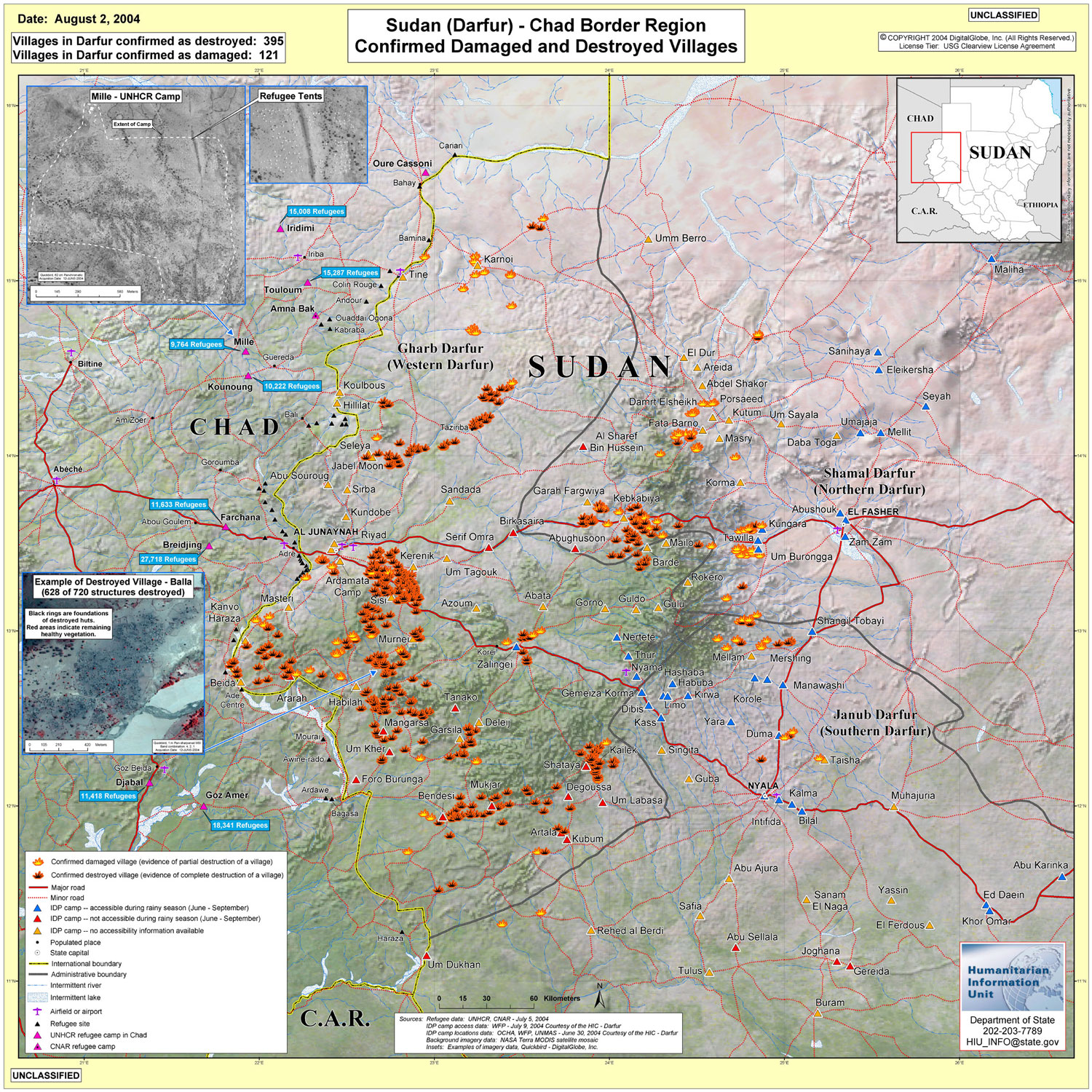 Download Free Sudan Darfur Maps