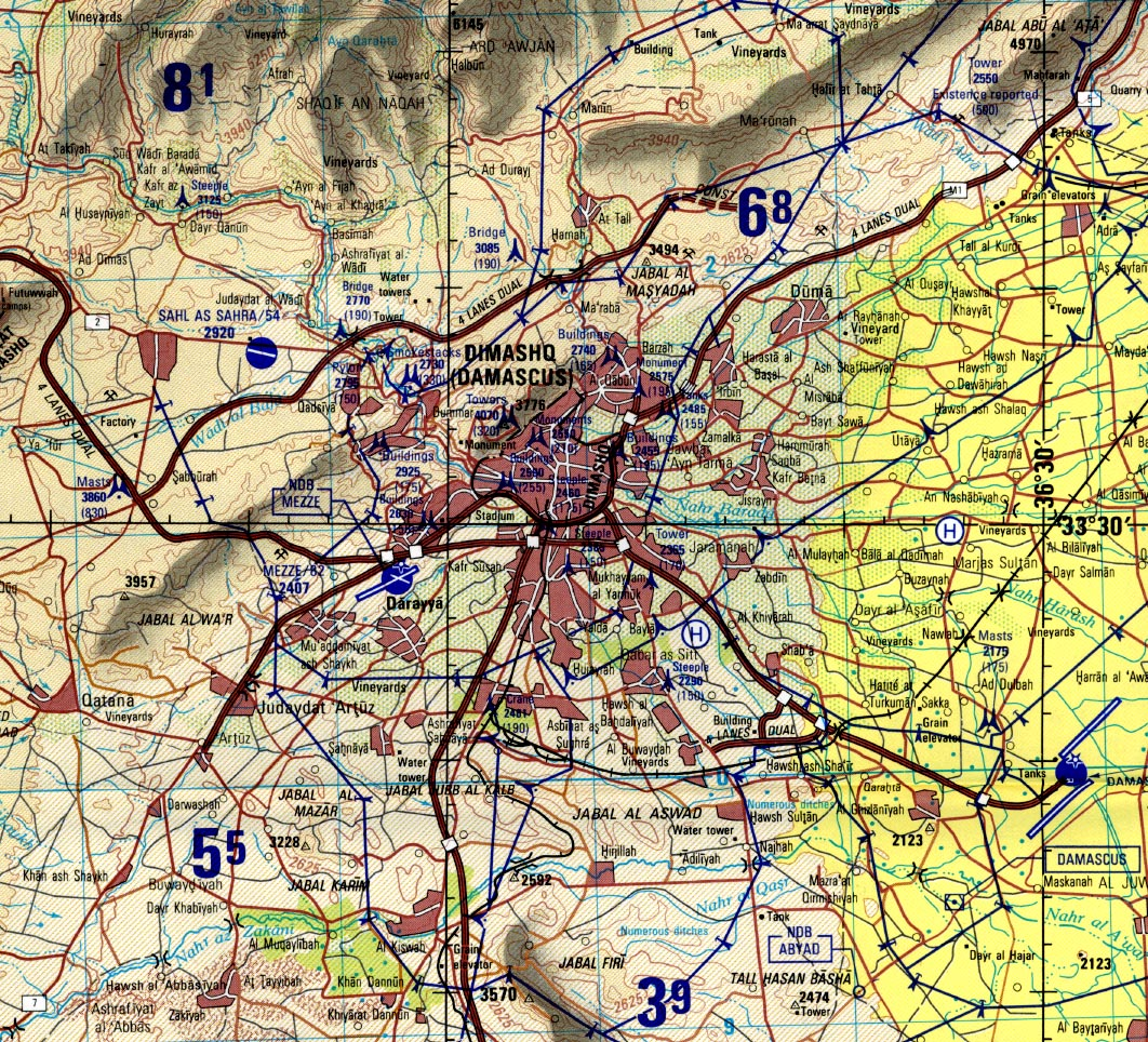 Download Free Syria Maps
