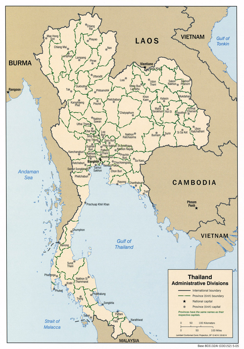 Download free thailand maps thailand administrative gumiabroncs Image collections